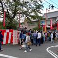 大須大道町人祭 2017 No - 27:今年も大勢の人が見に来ていた、大光院の大駱駝艦の金粉ショー