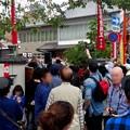 大須大道町人祭 2017 No - 28:今年も大勢の人が見に来ていた、大光院の大駱駝艦の金粉ショー.