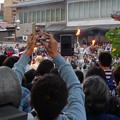 大須大道町人祭 2017 No - 29:今年も大勢の人が見に来ていた、大光院の大駱駝艦の金粉ショー.