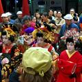 大須大道町人祭 2017 No - 83:夜のおいらん道中(休憩中)