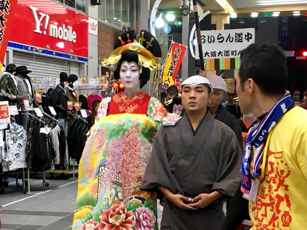 大須大道町人祭 2017 No - 95:夜のおいらん道中