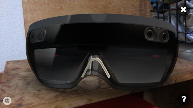Sketchfab:HoloLensの3DモデルをARで表示 - 3