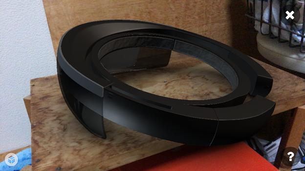 Sketchfab:HoloLensの3DモデルをARで表示 - 7