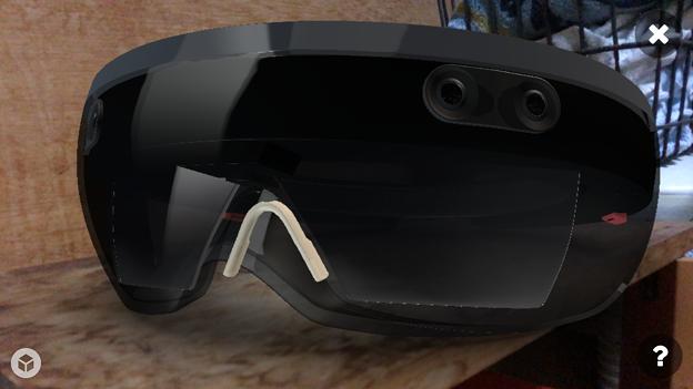 Sketchfab:HoloLensの3DモデルをARで表示 - 9