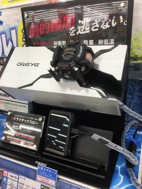 Casioのアクションカメラ「GZE-1」 - 1