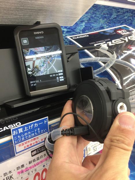 Casioのアクションカメラ「GZE-1」 - 3