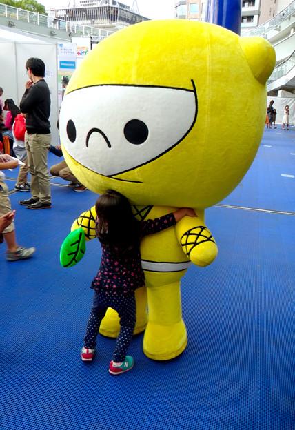 名古屋市消費生活フェア &なごやHppyタウン No - 11:子どもたちに人気だった「レモンじゃ」