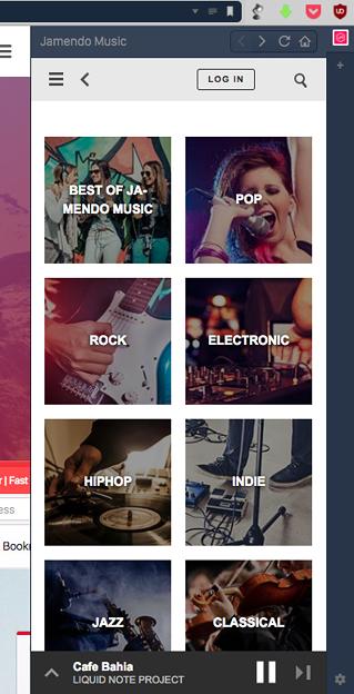 Vivaldi WEBパネルで「Jamendo Music」使うなら「ラジオ」モードがお薦め! - 1