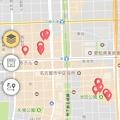写真: 愛知県警のぼったくり防止アプリ「アイチポリス」 - 14:ぼったくり条例違反店舗の場所