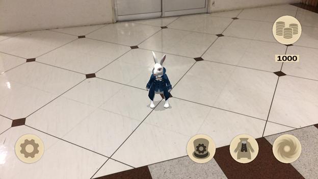 『不思議の国のアリス』を題材にしたミニゲームアプリ「Alice in Wonderland AR quest」2.1 No - 1