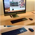 写真: Appleストア名古屋栄に展示されてた「iMac Pro」 - 8:黒いMagic KeyboardとMagic Mouse