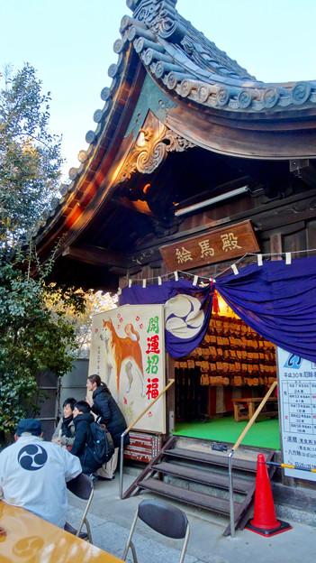 写真: 戌年で賑わう2018年正月の「伊奴(いぬ)神社」 - 24:絵馬殿