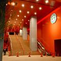 写真: 建物が完成した4月再開場予定の御園座 - 10:御園座入り口?