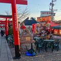 写真: 三光稲荷神社:ほとんど人がいなかった「どぶろく祭り」 - 2