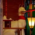 写真: 三光稲荷神社のキツネ像 - 2
