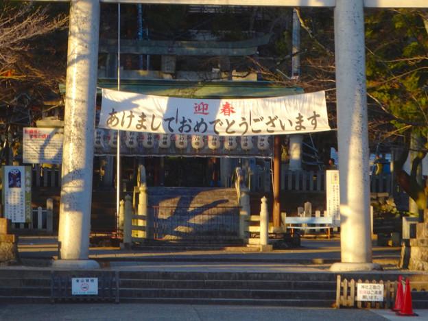 1月の針綱神社