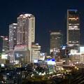 グローバルゲート最上階から撮影した夜の名駅ビル群(iPhone 8で撮影) - 7
