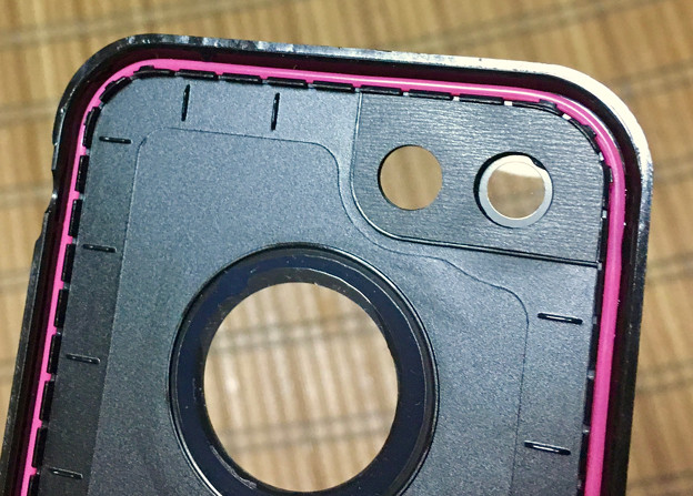 KYOKAのiPhone 7&8用の格安防水・耐衝撃ケース - 25;裏面(防水用のゴム)