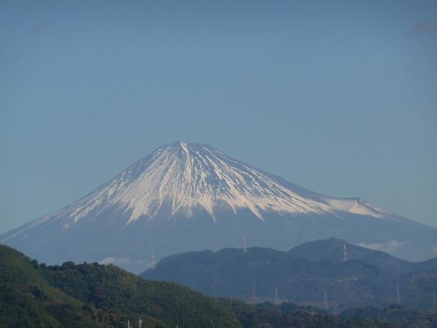 12月7日の富士山