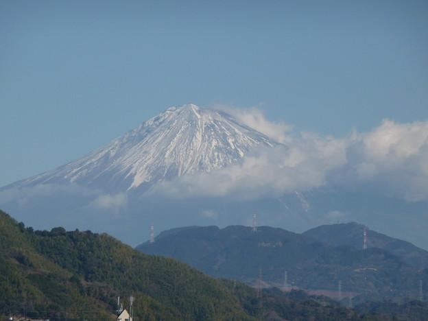 2018年1月1日の 富士山