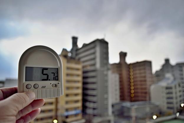 本日の気温