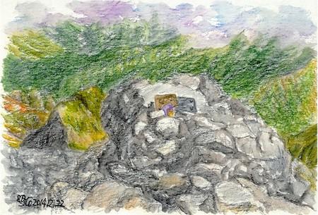 20141222劔岳山頂