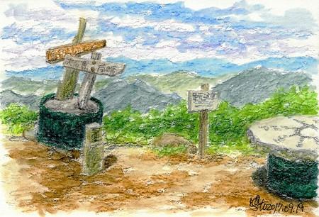 20170919吾妻山山頂