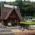 写真: 式敷駅