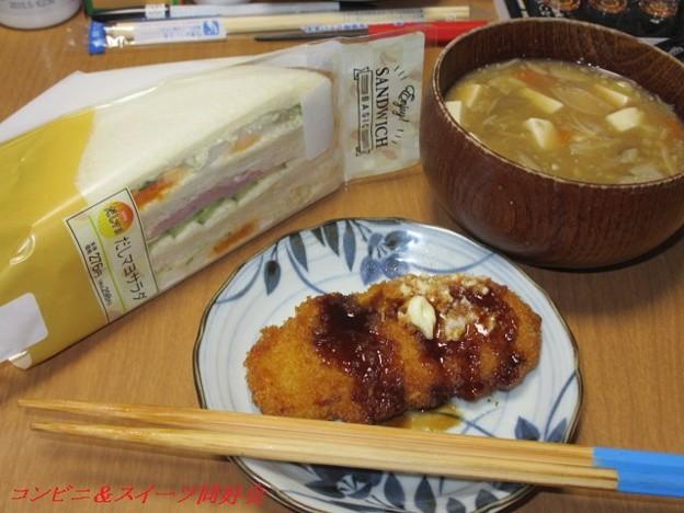 簡単昼食(^。^;;
