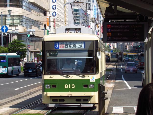 広電813編成