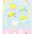 Photos: 102ポストカード/虹色リボンのイースター/セキセイ1