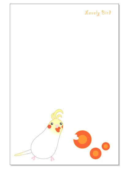 112ポストカード/にんじん/オカメ・ホワイト