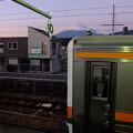 東海道線東田子の浦駅にて