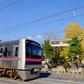 写真: 京成八幡~鬼越間にて