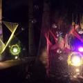 写真: ミラーボールのオブジェ #湘南 #藤沢 #江ノ島 #mysky #バレンタイン #イルミネーション #夜景