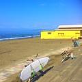 Photos: 晴れ渡る今朝の湘南・鵠沼海岸 #湘南 #藤沢 #海 #波 #wave #surfing #mysky #beach