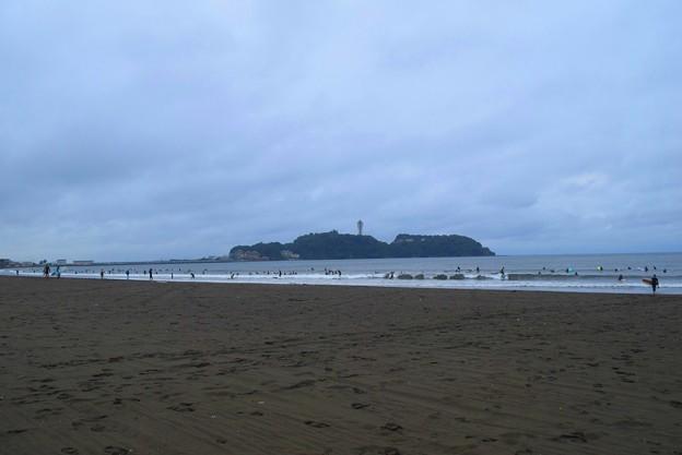 今朝の江ノ島 #湘南 #藤沢 #海 #波 #wave #surfing #mysky #beach