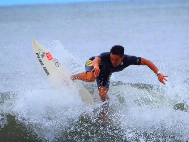 オフショアの湘南・鵠沼海岸 #湘南 #藤沢 #海 #波 #wave #surfing #mysky #beach