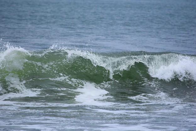 今朝の湘南・鵠沼海岸の波波は腰から腹サイズ #湘南 #藤沢 #海 #波 #wave #surfing #mysky #beach