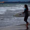 写真: 湘南・鵠沼海岸のサーファー #湘南 #藤沢 #海 #波 #wave #surfing #mysky