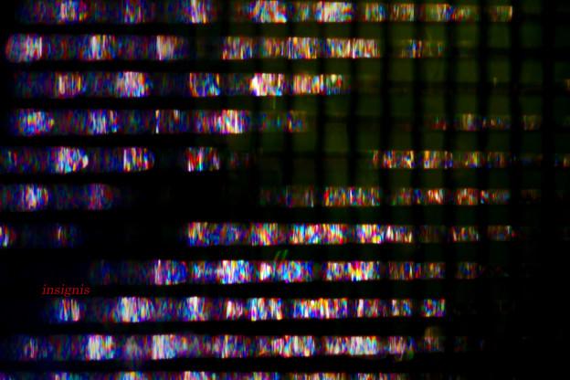 写真: 光の断面.......