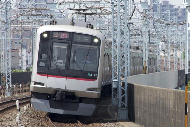 東急5000系 5116F [東武 谷塚駅]