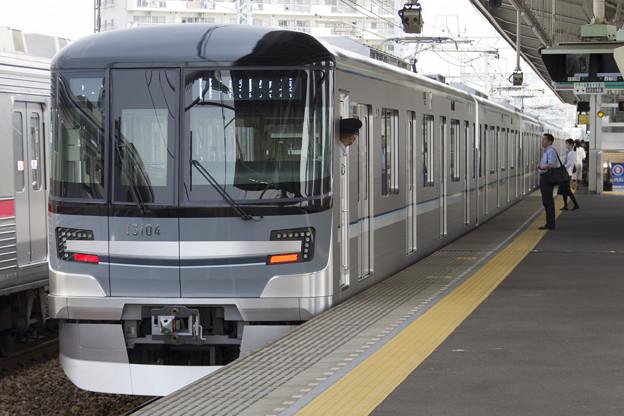 東京メトロ13000系 13104F [東武 谷塚駅]