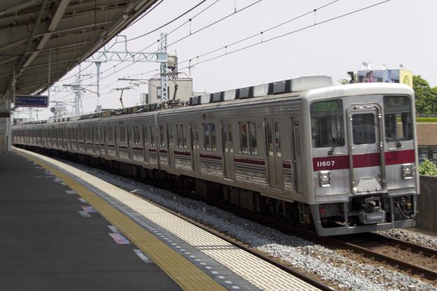 東武鉄道10000系 11607F [東武鉄道 谷塚駅]