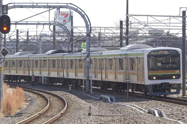 JR209系3100番台 宮ハエ72編成 [JR東日本 拝島駅]
