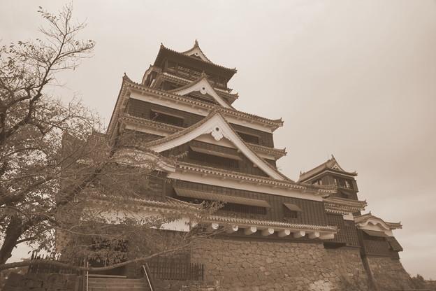 熊本城天守