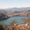 写真: 相模湖嵐山から見た相模湖