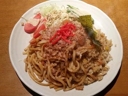 JRスペシャル(焼きうどん&チャーハン)