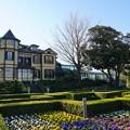 写真: 初冬の外交官の家