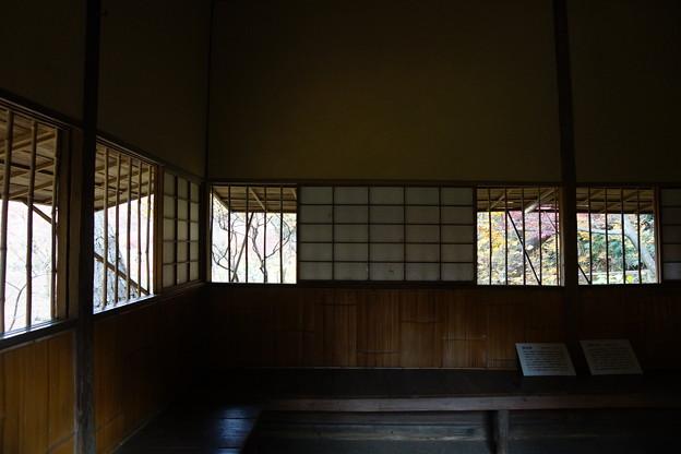 写真: 横笛庵室内